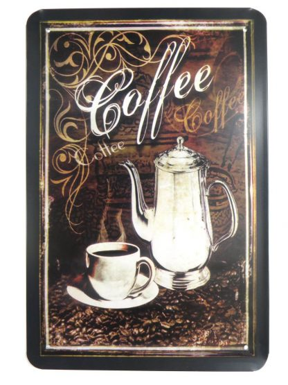 coffee tin sign house accessories metalsign17-1 Metal Sign accessories