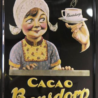 Cacao Bensdorp tin sign home & decor metalsign17-3 Metal Sign &