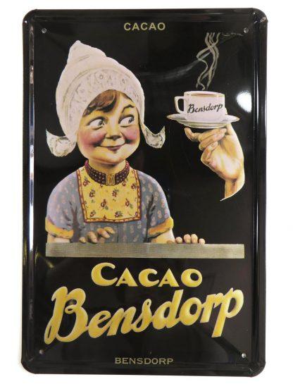 Cacao Bensdorp tin sign home & decor metalsign17-3 Metal Sign &