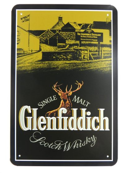 Glenfiddich Scotch Whisky tin sign home accessories office restaurant metalsign17-4 Beer Wine Liquor accessories