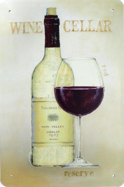 Wine Cellar tin sign  paintings metalsign17-6 Beer Wine Liquor cellar