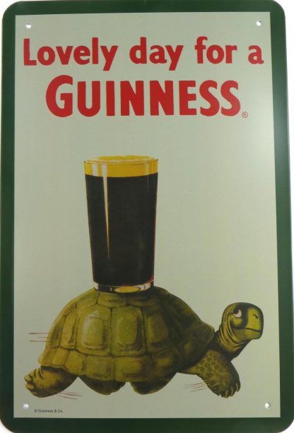Lovely day  a Guinness tin sign bedroom decoration ideas metalsign18-4 Beer Wine Liquor a