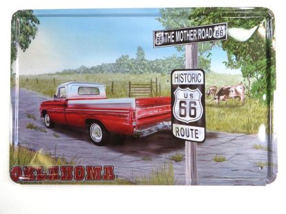Country car USA Route 66 tin sign bedroom interior metalsign19-1 Gas Oil Automotive bar pub signs