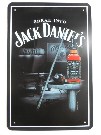 Jack Daniels Whiskey tin sign wall accessories metalsign19-2 Beer Wine Liquor accessories