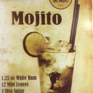 Mojito tin sign wall designs  living room metalsign19-5 Metal Sign cheap room decor giftwares