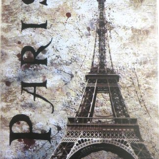 Paris Eiffel Tower tin sign large wall hangings metalsign19-7 Metal Sign classic metal signs