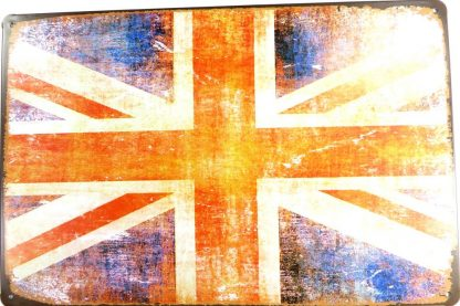 British Union Flag tin sign kitchen wall hangings metalsign20-4 Metal Sign British