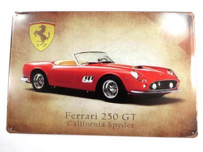 Ferrari 250 GT vintage tin sign room decoration items metalsign22-1 Metal Sign 250