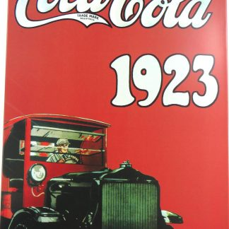 COCACOLA 1923 tin sign interior decorating styles metalsign23-2 Food Beverage Cola Coffee Tea 1923