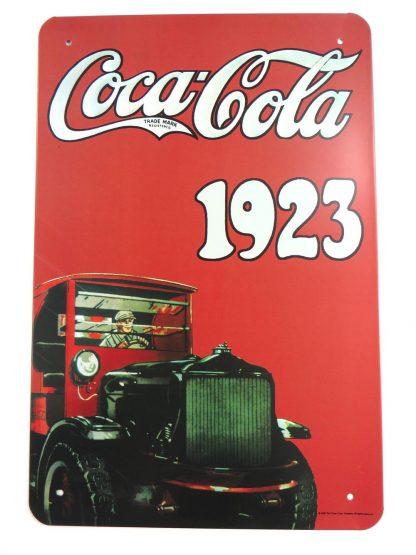 COCACOLA 1923 tin sign interior decorating styles metalsign23-2 Food Beverage Cola Coffee Tea 1923