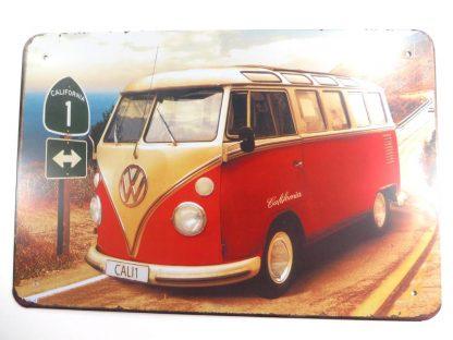 retro bus tin sign dining  metalsign23-3 Metal Sign bus