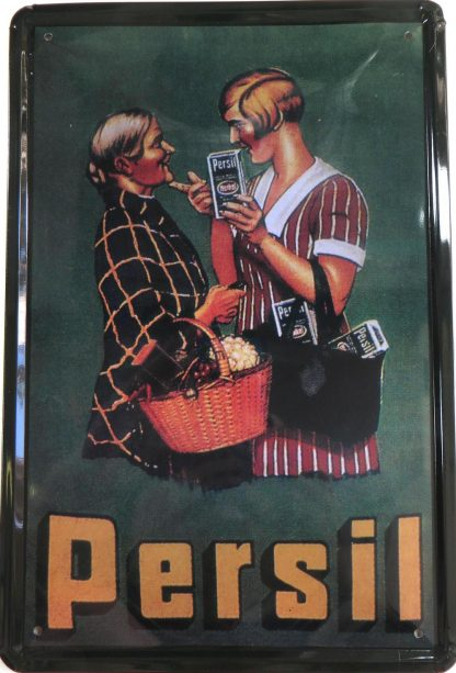 Persil Laundry Detergent tin sign the  store metalsign24-1 Metal Sign Detergent