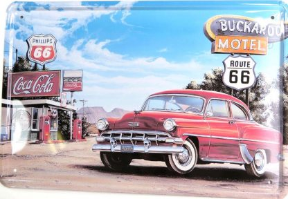 Route 66 garage car tin sign house bar ideas metalsign24-2 Gas Oil Automotive bar