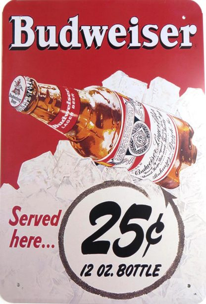 Budweiser tin sign vintage art  metalsign24-3 Beer Wine Liquor art