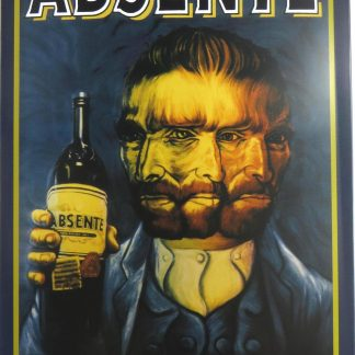 Absente tin sign  man cave online metalsign24-4 Metal Sign Absente