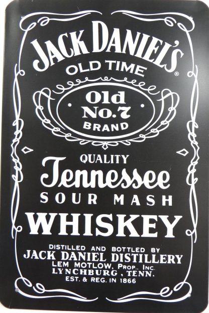 Jack Daniels Old Time Whiskey tin sign dorm room   metalsign25-3 Beer Wine Liquor dorm
