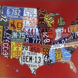 American map license plate tin sign wall ornaments metalsign26-2 Metal Sign American