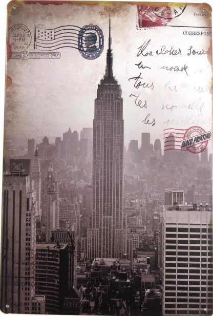 postcard retro tin sign   living room metalsign28-6 Metal Sign home decor items