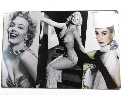 Marilyn Monroe tin sign office  metalsign40-6 Metal Sign bathroom wall decor