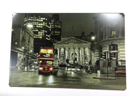 vintage bus city tin sign vintage  metalsign40-7 Metal Sign artwall