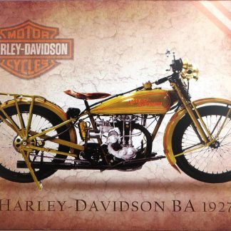 Harley-Davidson 1927 motorcycle tin sign  office restaurant  metalsign41-3 Gas Oil Automotive 1927