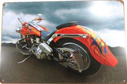 motorcycle biker tin sign home  metalsign42-1 Gas Oil Automotive artwork prints