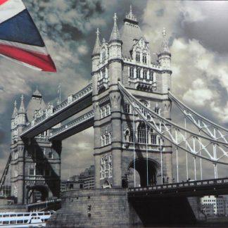 London bridge Britain UK tin sign kitchen  metalsign42-3 Metal Sign art prints for sale