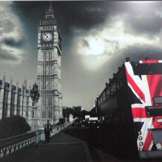 London big ben Double uk decker red bus tin sign  metalsign42-4 Metal Sign ben
