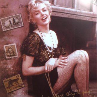 Marilyn Monroe tin sign cabin decor metalsign42-5 Metal Sign & decor