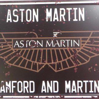 ASTON MARTIN tin sign indoor  metalsigns29-5 Metal Sign ASTON