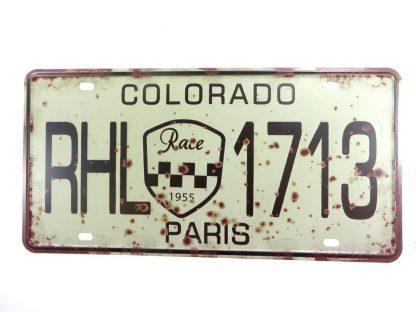 Colorado RHL 1713 Paris tin sign office restaurant  metalsigns32-1 Metal Sign 1713