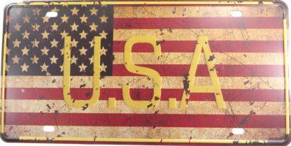 USA American flag tin sign bar design metalsigns32-2 Metal Sign American